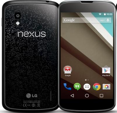 Loạn cảm ứng Nexus 4